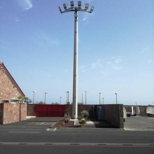 Sustitución Torres Mega aeropuerto de El Hierro