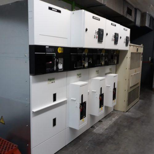 Renovación de cabinas eléctricas de media tensión en terminal T2 del aeropuerto de Barcelona