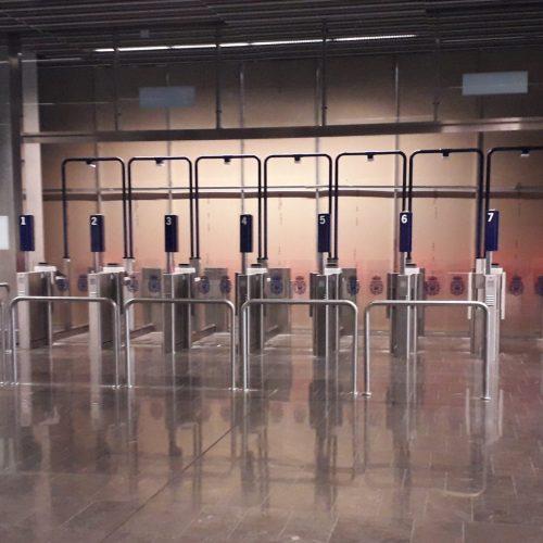 Adecuación de la ET a la nueva normativa de fronteras en el aeropuerto de Fuerteventura