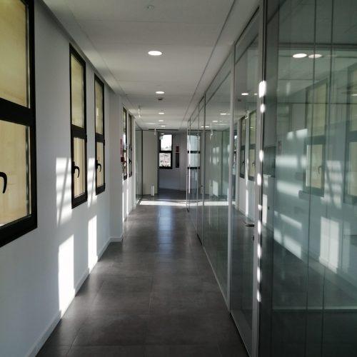 Creación de nuevos espacios para alojar a la división ATS en el edificio de control