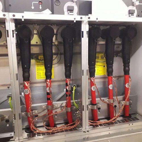 Proyecto para la sustitución de cabinas en varios CT