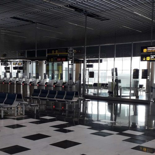 Adaptación de los controles de frontera no Schengen del terminal de pasajeros en el aeropuerto de Gran Canaria
