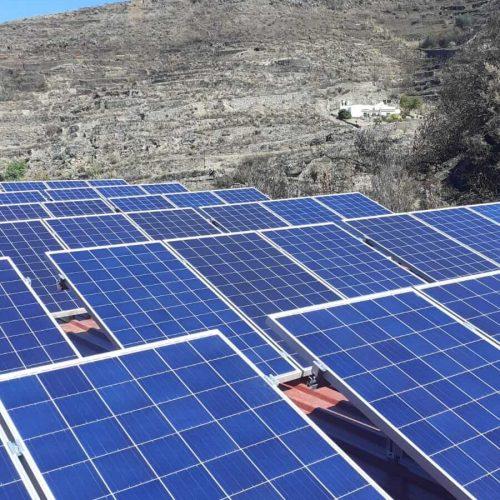 Instalación de sistemas de bombeo con energía fotovoltaica